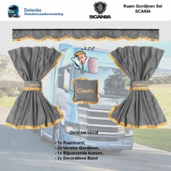 RAAM GORDIJNEN SETS  SCANIA...