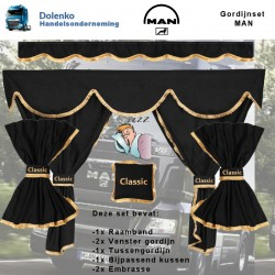 MAN COMPLETE CURTAIN SETS...
